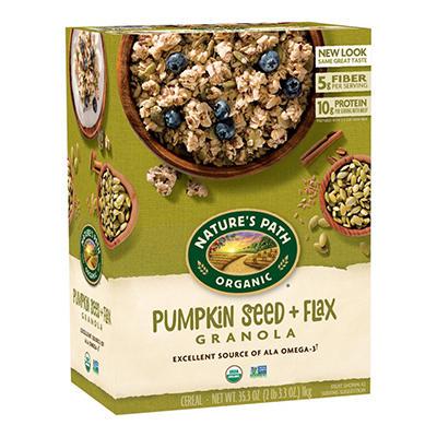 Nature's Path Organic Flax Plus Pumpkin Flax Granola - 17.64 oz. - 2 pk.