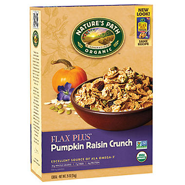 Flax Plus® Pumpkin Raisin Crunch Cereal - 35oz