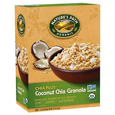 Nature's Path Organic Chia Plus Coconut Chia Granola (17.6 oz. box, 2 pk.)