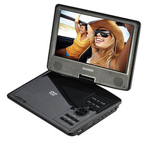 "Sylvania 9"" Portable DVD Player - Swivel Screen"