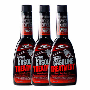 Metal Lube Gasoline Treatment Tri-Pack