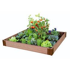 """Frame It All's Raised Garden - 1"""" 4' x 4', 1-Level"""