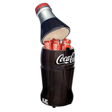 Coca-Cola Bottle Fridge - 10L capacity