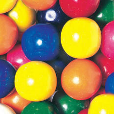 Dubble Bubble Mega Mouth 46mm Gumballs - 138 count