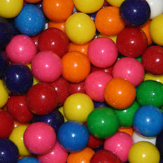Dubble Bubble Assorted Gumballs - Choose your size!