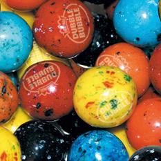Dubble Bubble 24mm Gumballs - 850 count - Choose your flavor!