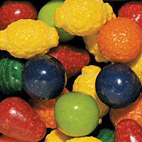 Dubble Bubble Seedling Fruit Gumballs - 850 ct.