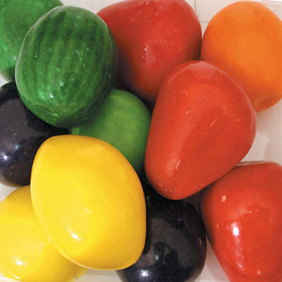 Dubble Bubble Mega Fruit Shapes and Flavors - 50mm 138 count