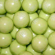 Dubble Bubble Limeade Gumballs - 23mm - 1,300 ct.