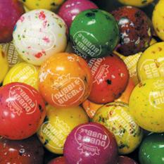 Dubble Bubble Splat Tie Dye 24mm Gumballs - 850 count