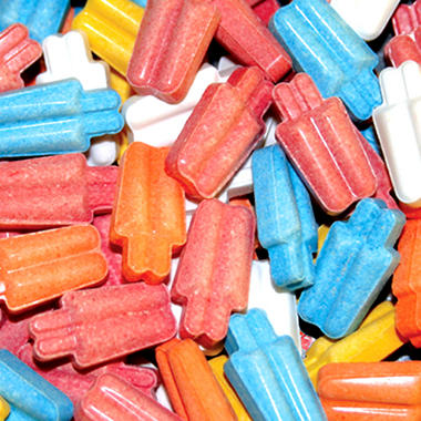 Ice Pops Assorted Uncoated Candy - 11,000 ct.