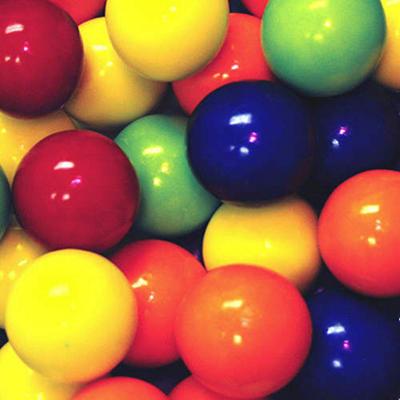 Kaboom Jawbreakers Assorted Solid Colors - 850 ct.