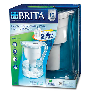 Brita� Vintage Pitcher with 2 Filters