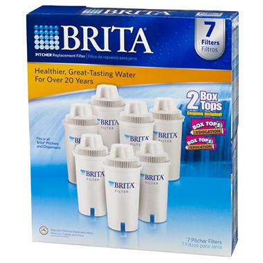 Brita® Pitcher Filters - 7 pk.