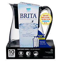 1-ct. Brita Monterey Water Filter Pitcher, 10 Cup (Various Colors)