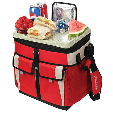 California Innovations 50 Can Collapsible TableTop Cooler With Easy Access Lid - Various Colors