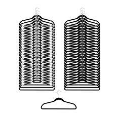 Neatfreak Felt Hanger 50-pack