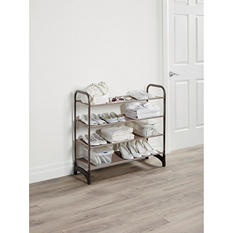 Neatfreak 4-Tier Stacking Shoe Shelf