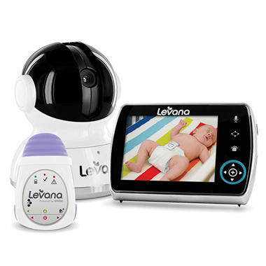 Levana Keera 3.5'' Digital Baby Video Monitor with Portable Baby Movement Monitor System