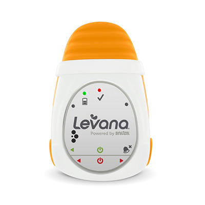 LEVANA Powered by Snuza Oma Clip-on Portable Baby Movement Monitor with Audible Alarm