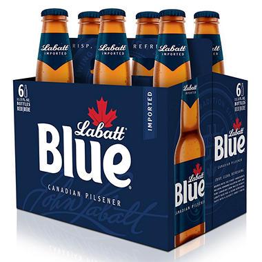 LABATT BLUE 6/12L