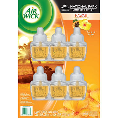 Air Wick Scented Oil Refills - 6 pk.