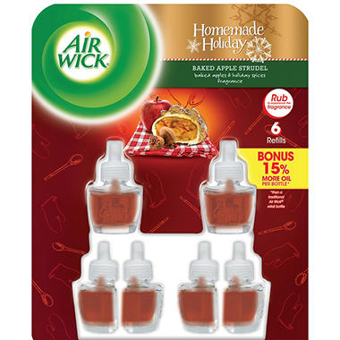 Air Wick Oils, Various Scents (6 Refills)