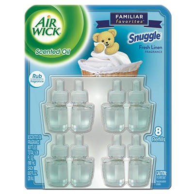 Air Wick Scented Oil Refills, Various Scents (8 pk.)