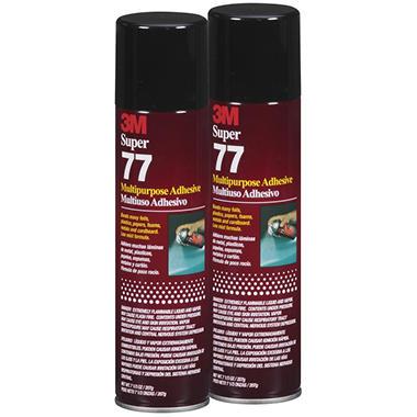 3M™ Super 77™ Multipurpose Spray Adhesive - 2 ct.