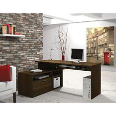 Bestar Modular HomePro 90426 L-Shaped Desk, Tuxedo