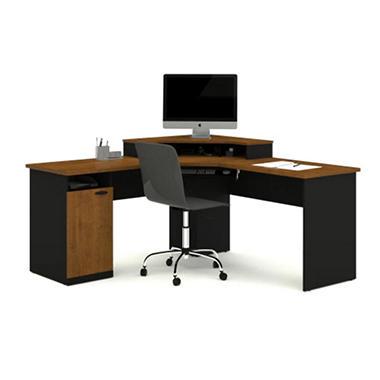 Desk Corner Workstation Office Home Furniture Modern Computer Table L Shaped