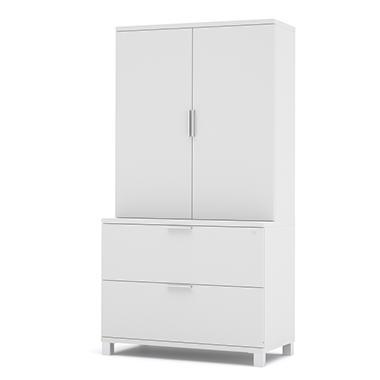 Bestar - OfficePro 120000 36'' storage kit - White