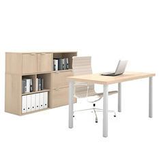 Bestar i3 OfficePro 150000 2-Drawer Executive Kit, Select Color