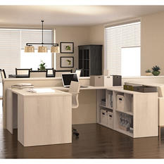 Bestar i3 OfficePro 150000 U-Shaped Desk, Select Color