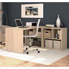 Bestar i3 OfficePro 150000 L-Shaped Desk, Select Color