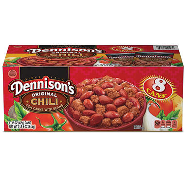 Dennison's� Chili With Beans - 8/15 oz. cans