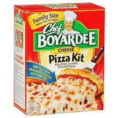 Chef Boyardee Cheese Pizza Kit - 31.85oz