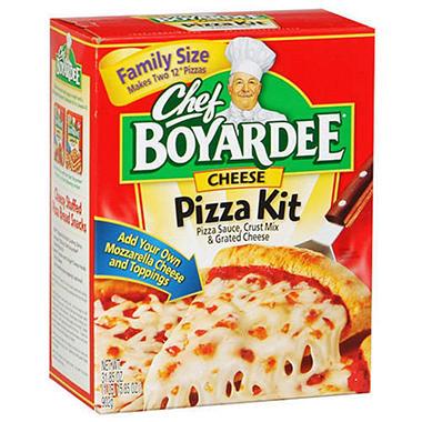 Chef Boyardee Cheese Pizza Kit - 31.85oz