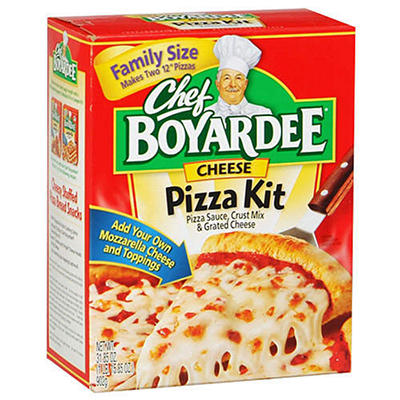 Chef Boyardee® Cheese Pizza Kit - 31.85oz