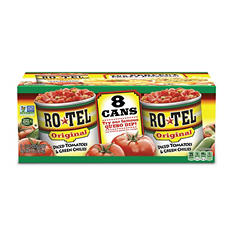 Rotel Diced Tomatoes & Green Chilies (10 oz., 8 ct.)