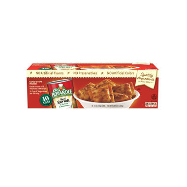 Chef Boyardee� Beef Ravioli - 15 oz. cans - 10 ct.