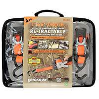 "Erickson 1"" x 6' Retractable Ratchet (4 Pk.)"