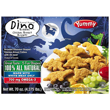 Yummy Dino Buddies Chicken Breast Nuggets - 70 oz.