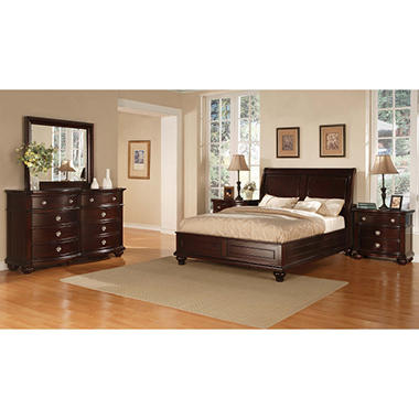 Lancaster Bedroom Set - King  - 5 pcs.