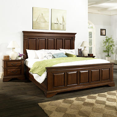 McAllen King Bedroom Set Sam s Club