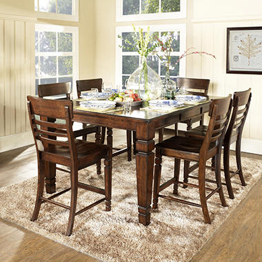 Holden Counter Height Dining Set 7 Pc Sam 39 S Club