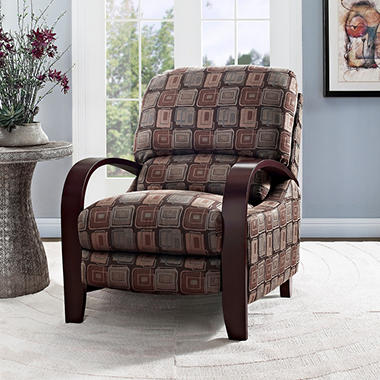 Peyton Bent Arm Recliner - Java