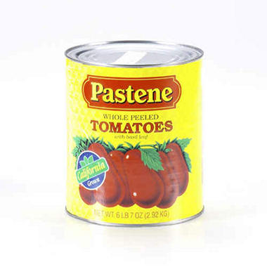 Pastene Peeled Tomatoes - 6 lbs. 7 oz.