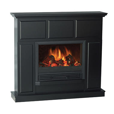 Electric Fireplace with 44