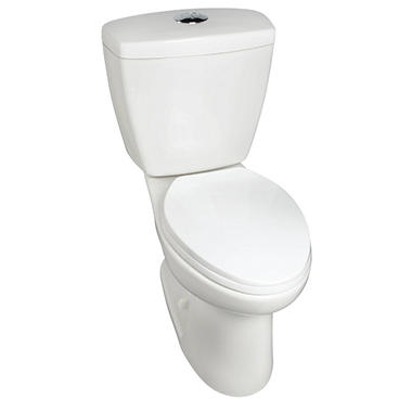 Alexis high efficiency dual flush toilet sam 39 s club for Quality craft alexis toilet parts